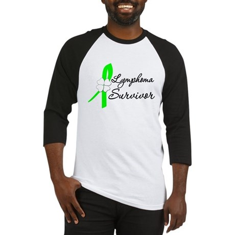 Lymphoma Survivor Baseball Jersey
