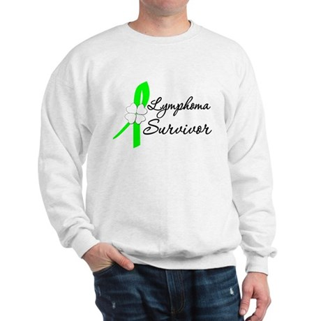 Lymphoma Survivor Sweatshirt