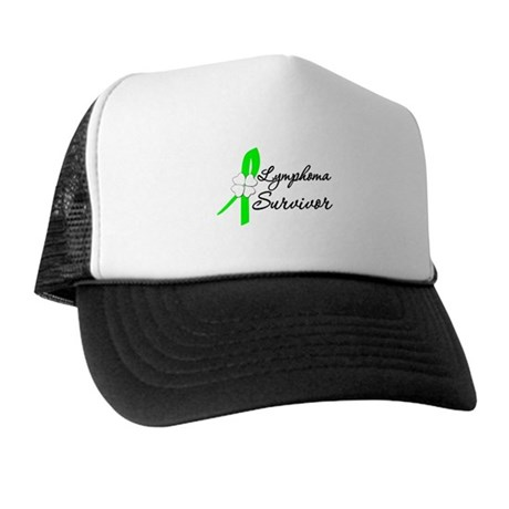 Lymphoma Survivor Trucker Hat