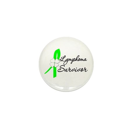 Lymphoma Survivor Mini Button (100 pack)