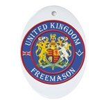 UK Masons Oval Ornament