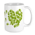 Ginkgo Leaf Heart Large Mug