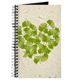 Ginkgo Leaf Heart Journal