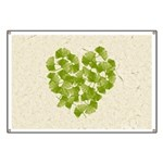 Ginkgo Leaf Heart Banner
