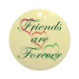 Friends Forever Ornament (Round)