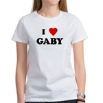 I Love GABY Women's T-Shirt