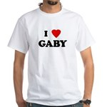 I Love GABY White T-Shirt