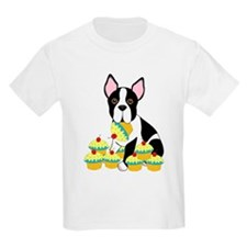 Boston Terrier Cupcakes T-Shirt