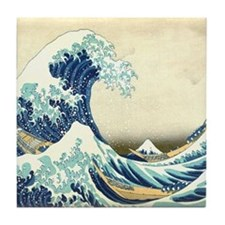 Great Wave off Kanagawa Tile Coaster