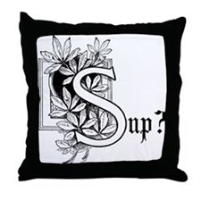 Sup? Throw Pillow
