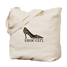 shoe girl Tote Bag