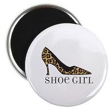 """shoe girl 2.25"""" Magnet (100 pack)"""