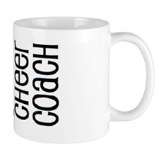 #1 Cheer Coach Small Mug