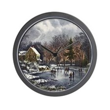 Early Winter Wall Clock