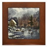 Early Winter Framed Tile
