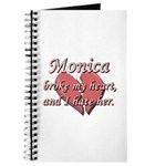 Monica broke my heart and I hate her Journal
