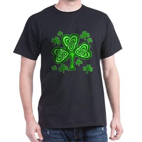 Celtic Shamrocks Dark T-Shirt