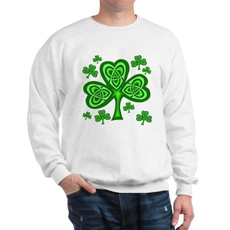 Celtic Shamrocks Sweatshirt