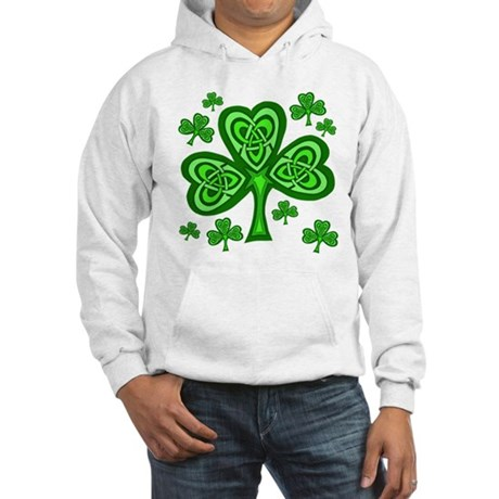 Celtic Shamrocks Hooded Sweatshirt