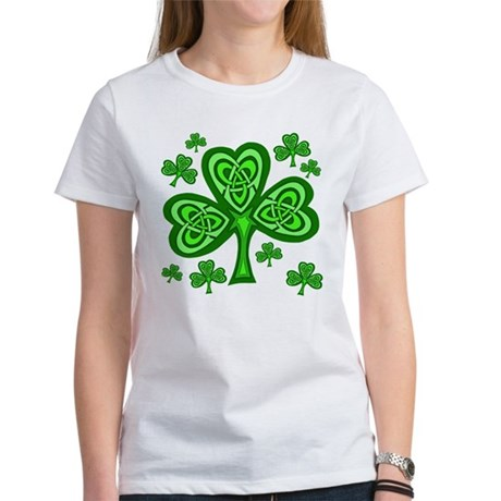Celtic Shamrocks Women's T-Shirt