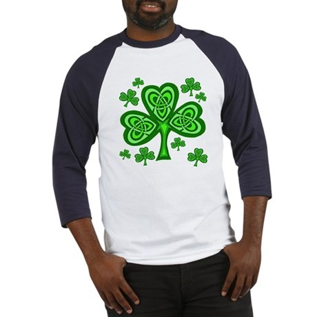 Celtic Shamrocks Baseball Jersey