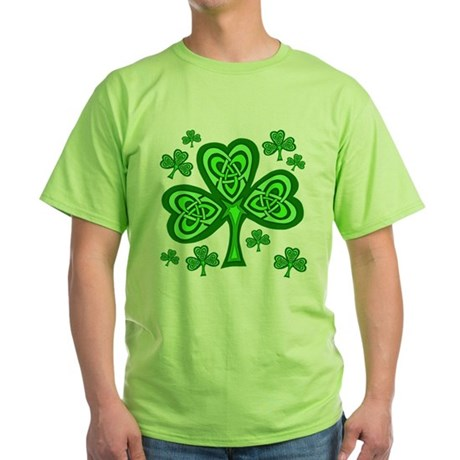 Celtic Shamrocks Green T-Shirt