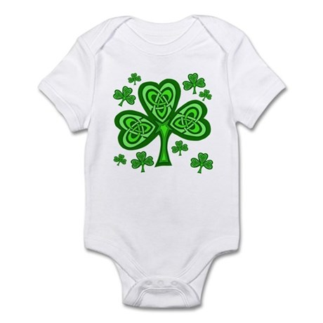 Celtic Shamrocks Infant Bodysuit