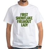 FIRST SNOWFLAKE FREAKOUT LADY Shirt