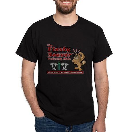 Fiesty Beaver Dark T-Shirt