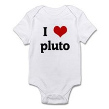 I Love pluto Infant Bodysuit