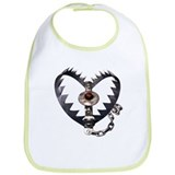 Bear Trap Heart Bib
