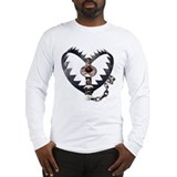 Bear Trap Heart Long Sleeve T-Shirt