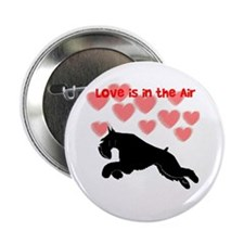 "schnauzer love 2.25"" Button"