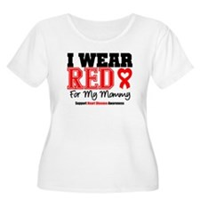 I Wear Red Mommy T-Shirt