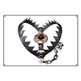 Bear Trap Heart Banner