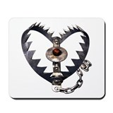 Bear Trap Heart Mousepad