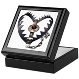 Bear Trap Heart Keepsake Box