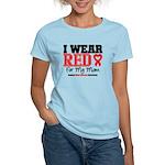 I Wear Red Mom Women's Light T-Shirt