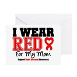 I Wear Red Mom Greeting Cards (Pk of 10)