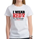 I Wear Red Grandpa Women's T-Shirt