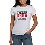 I Wear Red Grandpa Women's T-Shirt