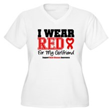 I Wear Red Girlfriend T-Shirt