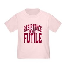 Resistance is Futile (red) T