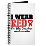 I Wear Red Daughter Journal