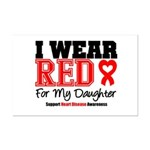 I Wear Red Daughter Mini Poster Print
