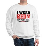 I Wear Red Cousin Sweatshirt