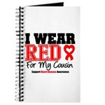 I Wear Red Cousin Journal