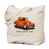 Ford Coupe 1934 Tote Bag