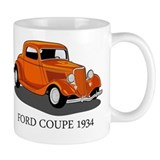 Ford Coupe 1934 Small Mug