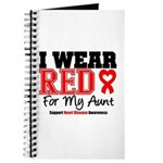 I Wear Red Aunt Journal